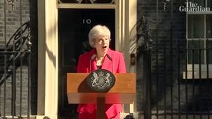 Theresa May's resignation speech