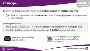 l'equity crowdfunding